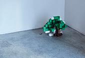 青山見本帖 ショウケース展示「AOYAMA CREATORS STOCK 11 木住野彰悟展 色の立方体」